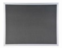 bulletin board with aluminum frame