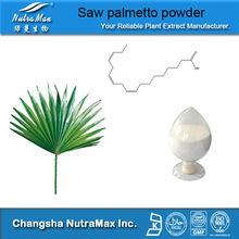 pharmaceutical grade saw palmetto (25%,45% Fatty Acid)