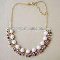 La primavera 2013 nuevo producto, nupcial de la burbuja y cuentas de cristal collar de la joyería caliente de la venta de la tienda en línea de china