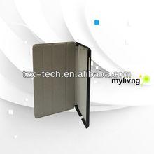 TZX New design New arrival lichee grain PU leather case for iPad mini