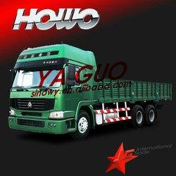 Howo 6*4 cargo truck sino better than toyota diesel van