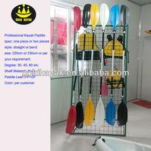Cheap Adjustable Plastic Boat kayak Paddle for sale