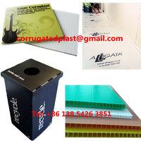 Plastic Folding Cardboard Display Box