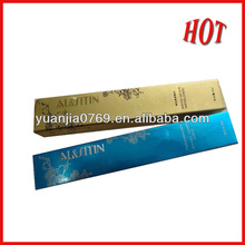 2013 new most beautiful package paper cosmetic box for beauty industry