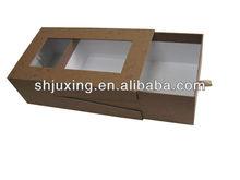 PVC window slide cardboard boxes