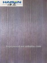 Natural/Engineered americal dark black walnut Veneer Fancy Plywood