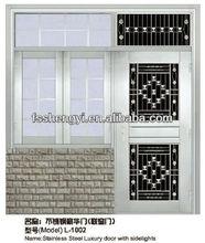 steel door window insert