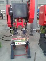 J23-75 ton prensa mecanica, 75 toneladas de capacidade de potencia de imprensa, 75 imprensa tonelada mecanico para venda