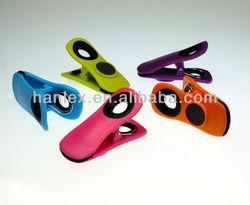 houseware promotion soft grip handle plastic clip fridge magnet