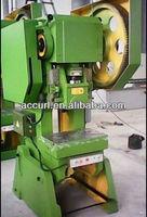 35 toneladas de capacidad de potencia prensa, volante mecanico prensa, J23-35 Ton prensa mecanica
