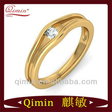 popular delicate moonlight kiss band ring