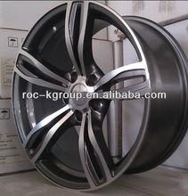 5 Holes gunmetal polish car wheels 19*8.5