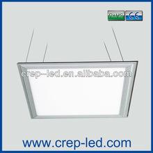 white shining paneling 40w 600x600