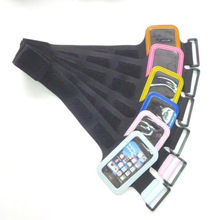 Neoprene cell phone pouch