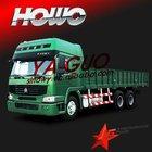Howo 6*4 cargo truck sino used van