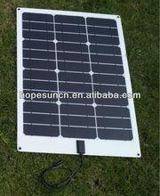 20w 22w 28w mono flexible solar panels for yacht