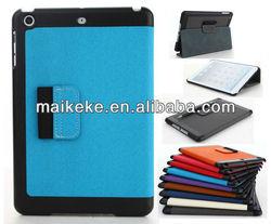 for ipad mini case with 360 rotating leather case, for mini ipad case