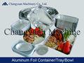 Papel de aluminio bandejas