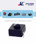 flashlight push button switch 12*12mm 2P on-off mini flashlight electrical equipment push button micro switch
