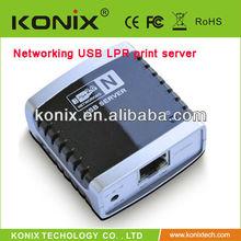 easy to plug wireless printer server