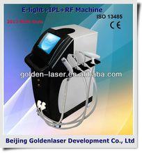 2013 Importer E-light+IPL+RF machine beauty equipment hair removal 2013 body laser epilator personal (dora)