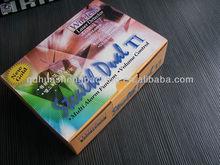 2012 magnetic beautiful and wonderful wholesales E flute box
