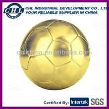 Metallic effect soccer ball