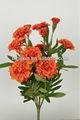 Laranja marigold buquê de flores 27796PN