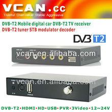 VCAN 2013 smarter DVB-T2C digital car tv receiver box-dvb-t usb receiver