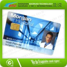 printing plastic employee id card