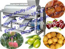 almond pitting machine/apricot stoning machine/fruit pitter