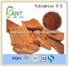 yohimbine extract powder,yohimbine hcl 98 % powder