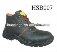 China made low cost steel toe safety ranger shoes in genuine leather