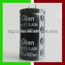 25*50mm 330uF 400V AV Capacitor Aluminum Electrolytic Capacitor Motor Start & Photo Flash & Welding Machine