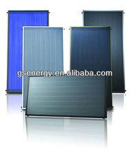 Flat plate solar collector with Solar Keymark