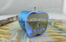 With FM radio,USB,TF card slot portable multimedia mini speaker