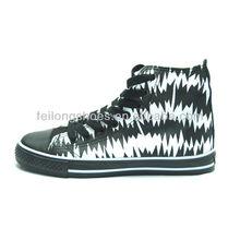 Black & White Men High Cut Basketball Shoes Manufacturer