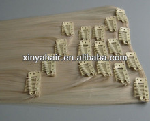Wholesale AAAA++ grade cheap pearl hair clip extensions