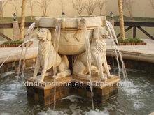 garden rock waterfall fountains