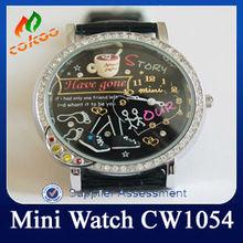 diamante orologi da uomo nero cw1054 cavaliere