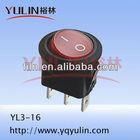 12v waterproof r11 rocker switch KCD3 round type FL3-016N