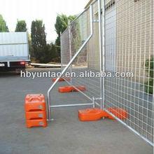 plastic portable fence feet
