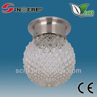 indoor lighting uvioresistant crystal ball hanging lighting direct