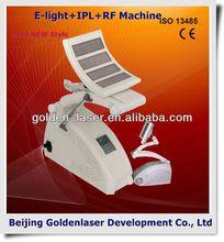 2013 New design E-light+IPL+RF machine tattooing Beauty machine desktop cosmetology products