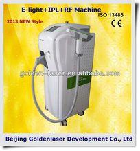 2013 New design E-light+IPL+RF machine tattooing Beauty machine clay