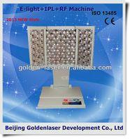 2013 New design E-light+IPL+RF machine tattooing Beauty machine cosmetology cases global hot sale!!!
