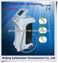 2013 New design E-light+IPL+RF machine tattooing Beauty machine newest high tattoo gun