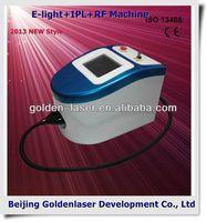 2013 Hot Selling Multi-Functional Beauty Equipment E-light+IPL+RF machine diamond peel
