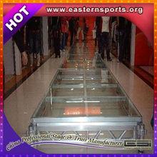 ESI Heavy Duty Acrylic Plexiglass Aluminum Stage,Performance Stage,Glass Platform Stage For Wedding Events