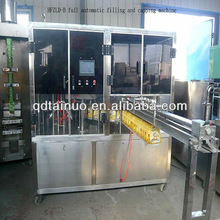 Tainuo Automatic tube shape milk /juice filling and sealing packing machine for stand up bag filling